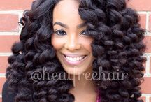 Natural Hair / Natural Hair styles that can be transformed into Creative Crochet styles. / by Creative Crochet Braids