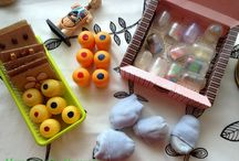Montessori - sensorial materials