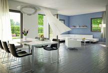 Wohnen   Living Room / Wohnen in allen Formen und Farben. Hier präsentieren Wir Ihnen unsere Wohnkonzepte für das Wohnzimmer eines Bien-Zenker Fertighauses.