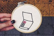 Unique handmade gifts. / Cross stitch and embroidery of the 21st century arts and crafts movement, powered by Brooklyn.