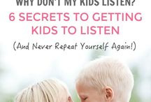 How to make kids listen the 1st time