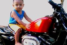 Dik Duh Naik HD Chopper / #SportsterNation #Bali #ChopperNations #KidsBike