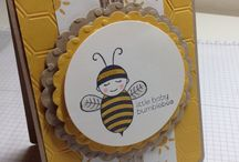 Stampin' Up! ~ Baby Bumblebee