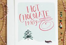 Hot Chocolate Party / Ideas, crafts, inspiration for a hot chocolate-themed party. / by Ashley Pahl