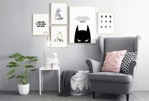 Inspiration / Kids room / Get inspired by these super cute childrens rooms. See combos of collages and picture walls.