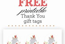 Fall Gifts/Tags