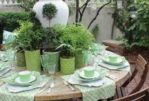 Озеленение террас