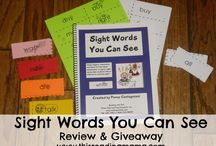 Sight words / by Emily Rodems Schleife