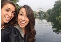 Colleen and Rachel Ballinger