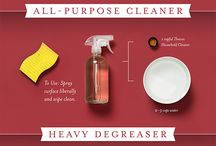 Cleaning and Purifying with Essential Oils