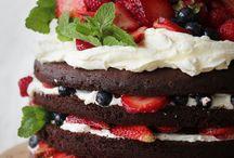 taart en snoepgoed