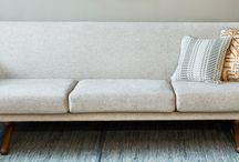 Sohvat / Sofas / Verhoomo Vanhan Viehätyksessä verhoiltuja sohvia