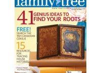 family tree magazine / by Mary Bramos