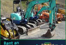 Excavators / Ark Rentals can rent you all kinds of construction equipment!  We have the following Excavators: 25NX IHI 35NX IHI 435 Bobcat  We also have Backhoes and Skid Loaders. Call: 570-366-1071 for Prices & Details! Email: Info@arkrentals.com