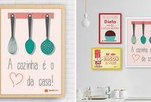 quadros de cozinha