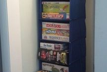 A place for everything / Get your school room and supplies organized! / by Idaho Coalition of Home Educators