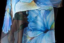 Flowery silk
