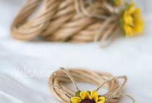 napkin rings rustic