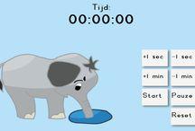 Time-Timers / Time-Timers die door mij zijn ontwikkeld.