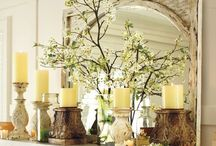 Spring is Here! / Spring Mantel Decoration Ideas