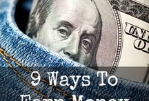 Fast Ways to Make Money / Need extra cash? Here are some fast ways to make money both from home and online. / by Kelly @MoneyMakingMommy