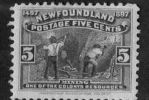 Industries on Stamps / Various resource and manufacturing industries as depicted on postage stamps