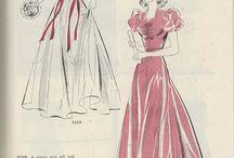 1940: Butterick Fashion Magazine Autumn 1940 / 1940s Fashion at its best in this Butterick Fashion Magazine from Autumn 1940