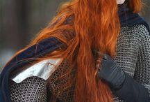 celtic red hair