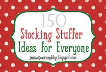 Stocking Stuffer Ideas / by Stacey Flores