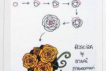 ZenTangle floral