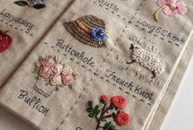 EMBROIDERY STITCH  JOURNALS