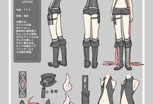 diseños de personajes