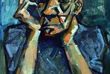 Art8+Art9/10: Project 1 - Expressionism Portraiture