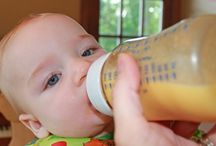 It's time for solids! Breastmilk goodies!