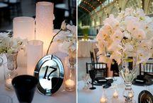 Black & white wedding / Weddings in black and white