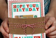 BIRTHDAY / Birthday printables and gift ideas / by Jamie Carter