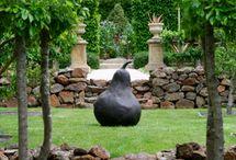 Landscaping / Statue art