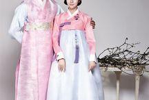 한복 Hanbok(Korean dress) / 한국 전통한복 또는 개량한복 한복을 활용한 작품등
