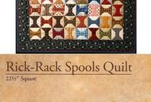 Quilts / Rik rak quilt