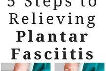 planter fascitis on feet
