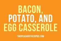 Bacon n egg recipes