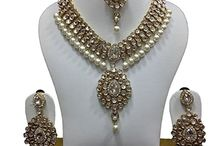 Kundan Polki Women Bridal Jewelry