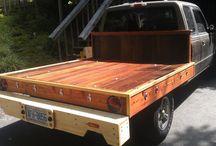 mobil bak kayu
