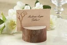 Деревянные свадебные элементы