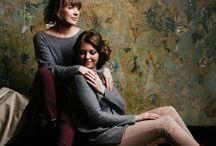 Фотосессия с мамой и сестрой
