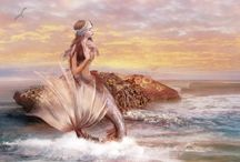 Mermaid Enchanting *_* / The Goddess of the Water, beautiful mermaids and their sacred divine energy. I love mermaids! :-)