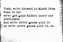 Music Lyrics / by Ian