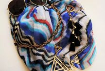 Scarves / L.V.Kiki will deliver a box with 4-6 carefully curated accessories right to their door every month for them to keep.  Each box is a surprise combination of trendy jewelry, shoes, scarves, gloves, hats, legwear, belts, and hair accessories.