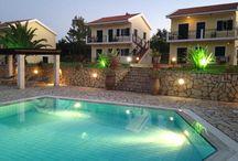 Liakas Village @ Spartia / Luxury Apartments with pool, snack bar & tennis court