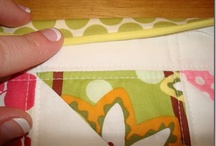 Quilting technique and tutorials.